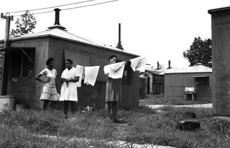 Городок участников Манхэттенского проекта в Ок-Ридж. 1942 г.