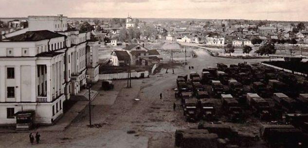 Площадь Ленина. 1941 г.