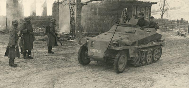 Окрестности Мозыря. 1942 г.