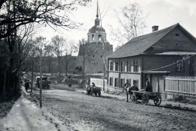 Улица Старорусская. 1941 г.