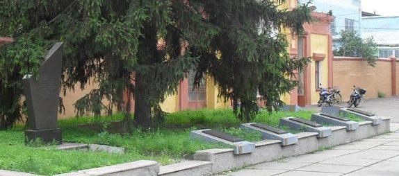 г. Конотоп. Памятник погибшим работникам завода «Красный металлист».