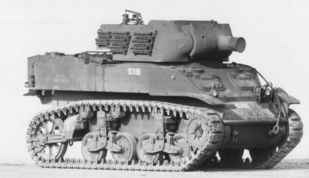 Американская 75-мм самоходная гаубица M8 «Скотт». Ноябрь 1943 г.