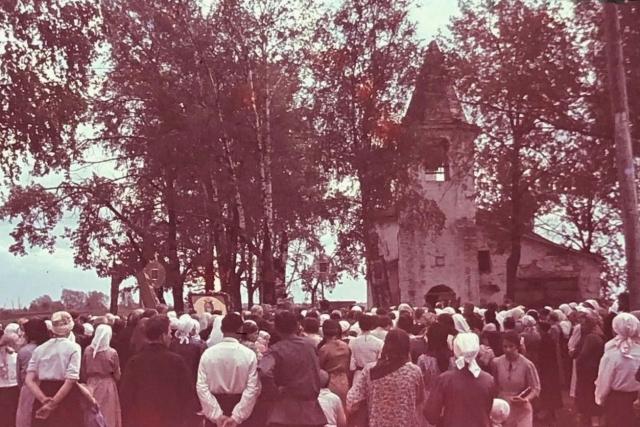 Церковь Рождества Пресвятой Богородицы. 1942 г.