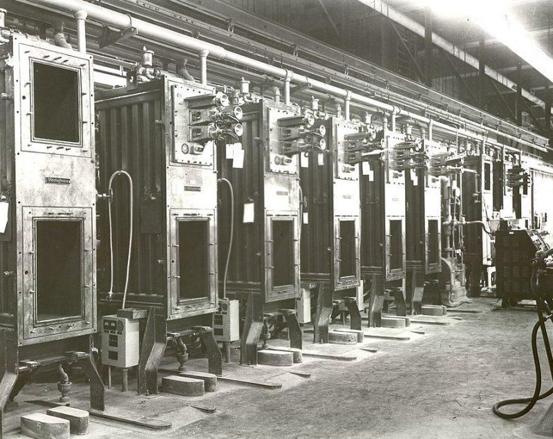 Цеха комплекса Y-12 по разделению изотопов урана. Ок-Ридж, 1944 г.