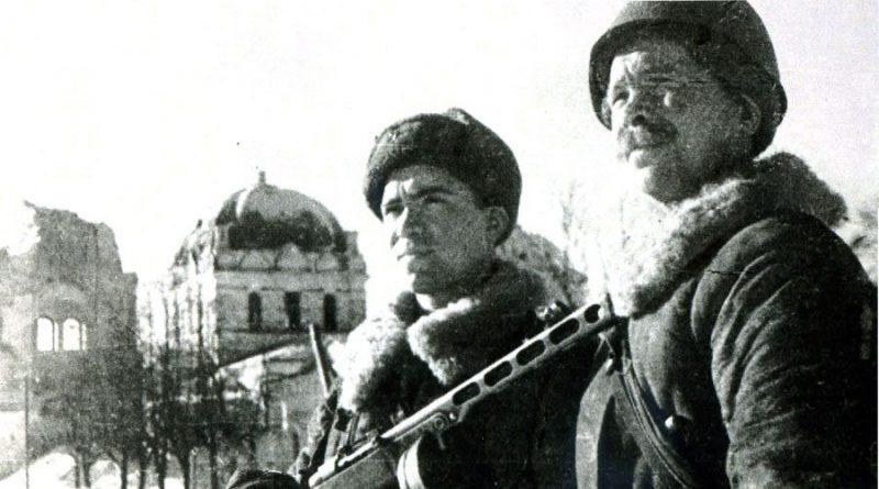 Освободители города. Март 1943 г.