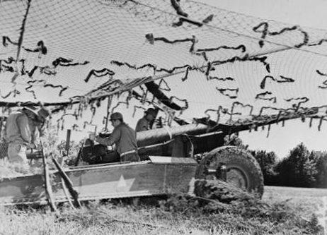 155-мм тяжелая полевая пушка. 1943 г.