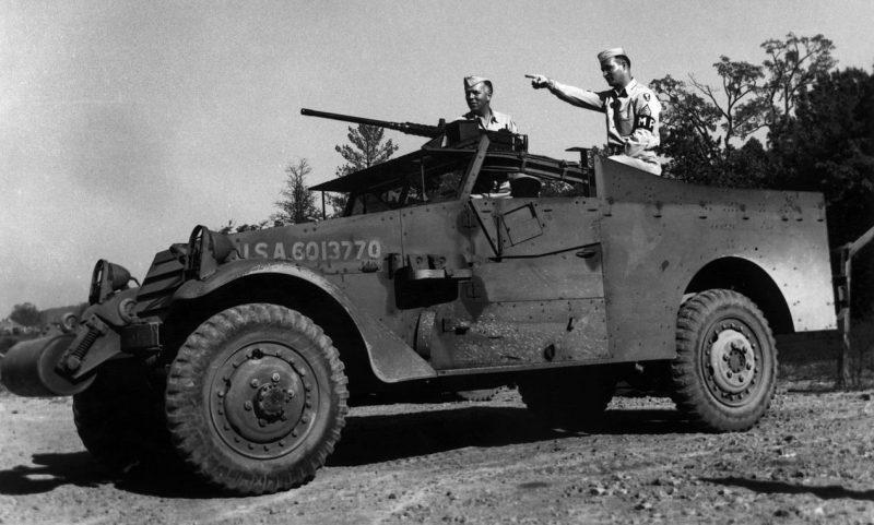 Подразделение охраны в Ок-Ридже. 1945 г.