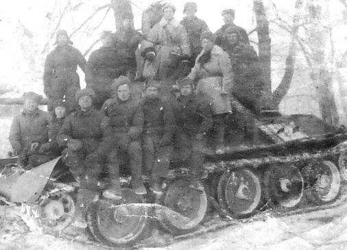 Советские пехотинцы у Великих Лук. Декабрь 1942 г.