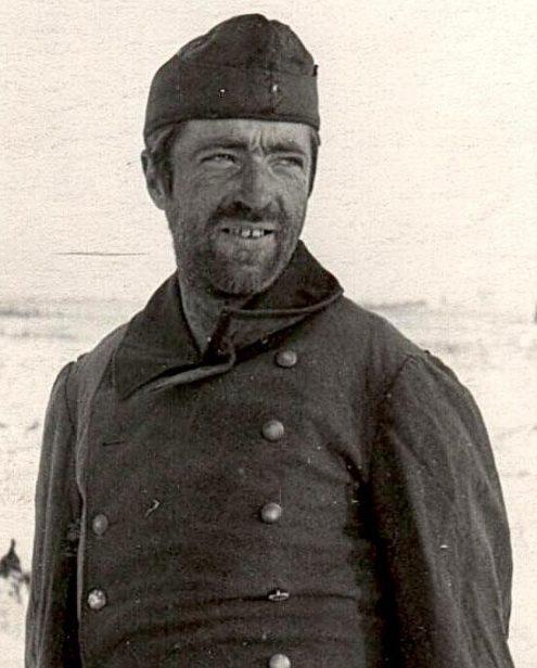 Пленные немцы, взятые под Великими Луками. Декабрь 1942 г.