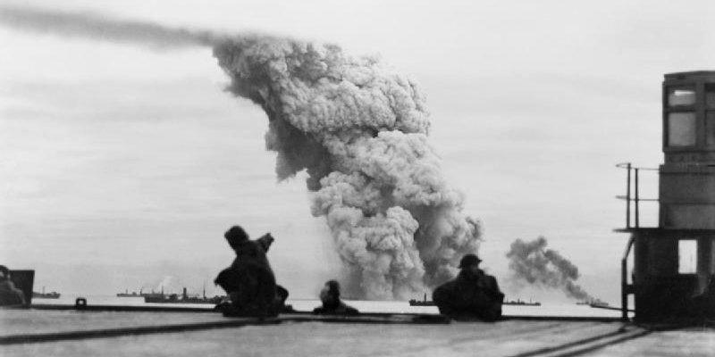 Гибель корабля с боеприпасами SS «Mary Luckenbach». Конвой PQ-18. Сентябрь 1942 г.