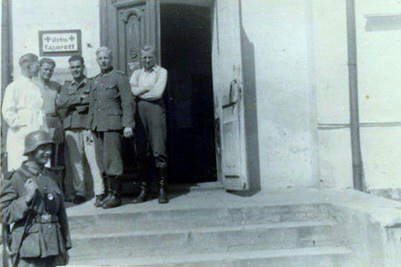 Немецкий госпиталь. 1942 г.