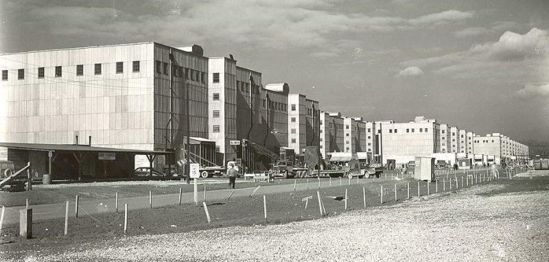 Установка K-25 по обогащению урана в Ок-Ридже. 1945 г.