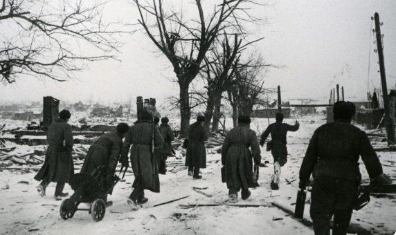 Бой под Великими Луками. Январь 1943 г.