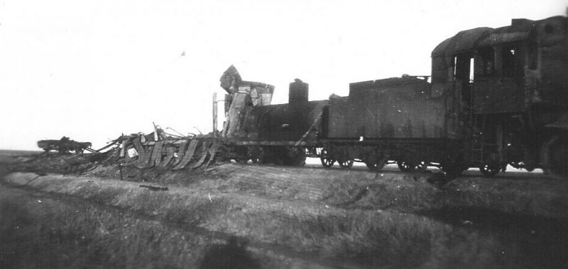 Станция Дно. 1942 г.