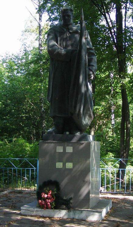 с. Марковское Роменского р-на. Памятник погибшим односельчанам.