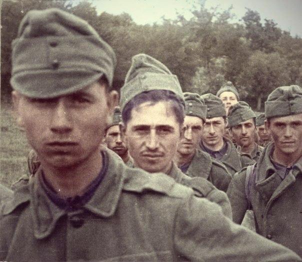 Венгерские военнопленные. Воронеж, 1942 г.