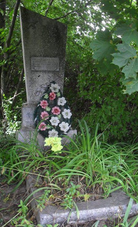 с. Московское Шосткинского р-на. Братская могила советских воинов.