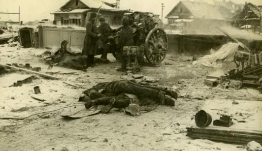 Уличный бой за город. Январь 1943 г.