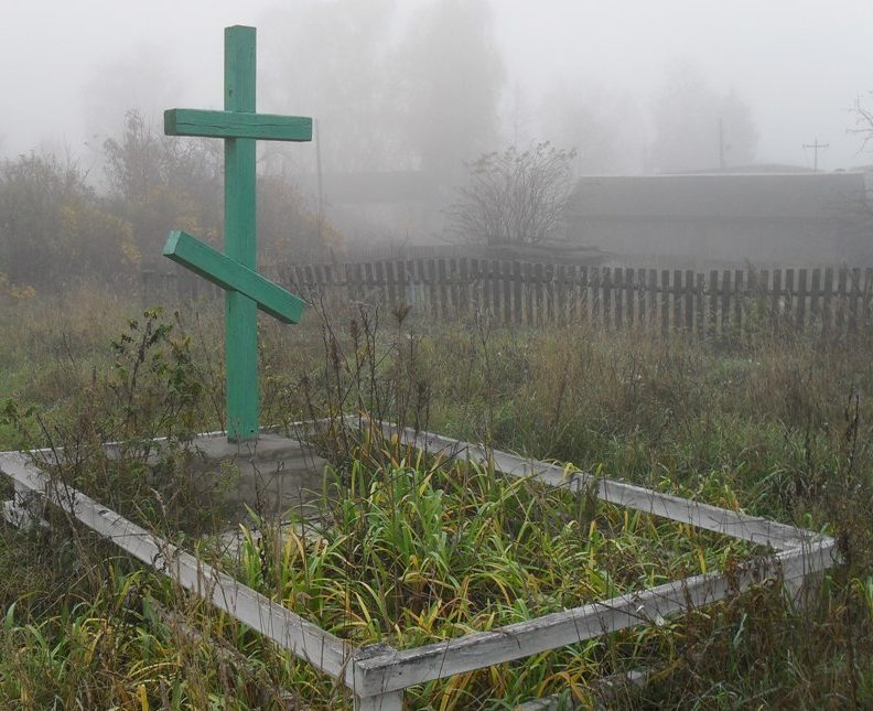 п. Знобь-Новгородское Середино-Будского р-на. Братские могилы жертв фашизма.
