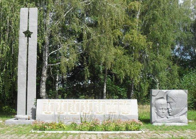 с. Дорошовка Ямпольского р-на. Памятник погибшим односельчанам.