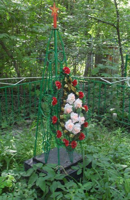 г. Дружба Ямпольского р-на. Братские могилы на кладбище воинов, погибших в боях за город.