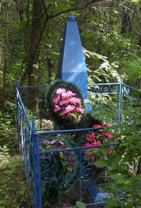 с. Зорино Ямпольского р-на. Братская могила советских воинов.