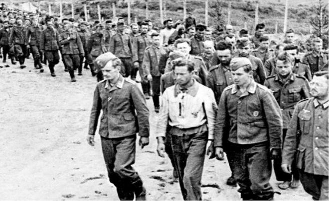 Немецкие военнопленные в Татарстане. 1944 г.