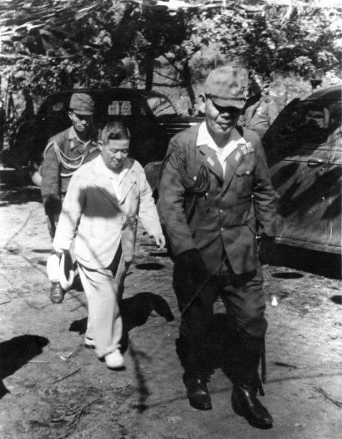 Пленные японцы. Манчжурия 1945 г.