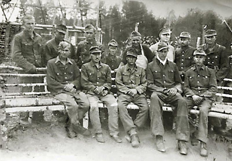 Военнопленные немцы в Саратове. 1947 г.