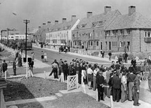 Хайтон – транзитный лагерь для интернированных. 1940 г.