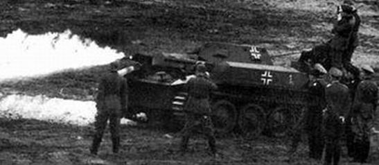 Легкий огнеметный танк PzKpfw II/Flamingo /Sd. Kfz. 122. 1941 г.