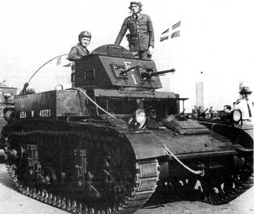 Легкий танк M1 Combat Car. 1939 г.