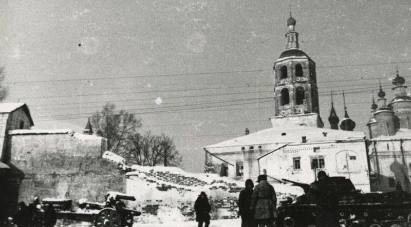 Освобожденный Боровск.