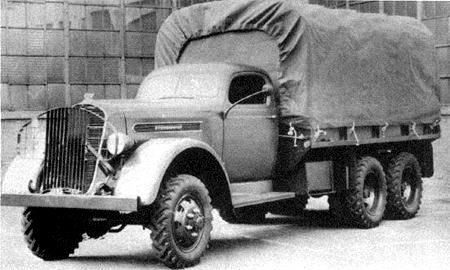 Грузовик Studebaker K-25. 1939 г.