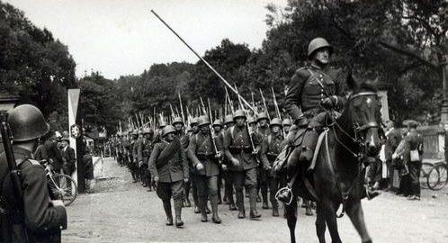 Оккупация поляками Тешина. Октябрь 1938 г.