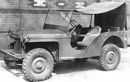Внедорожник Bantam-60 Mk-II (BRC-60). 1940 г.
