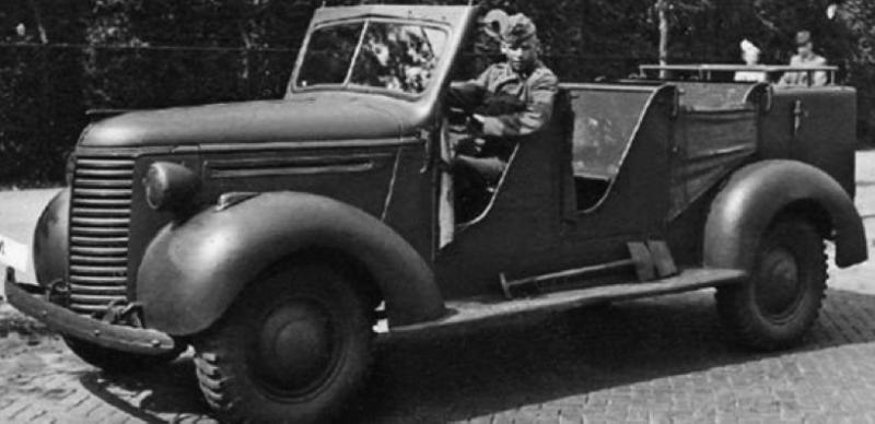 Внедорожник Chevrolet KD/DAF. 1940 г.