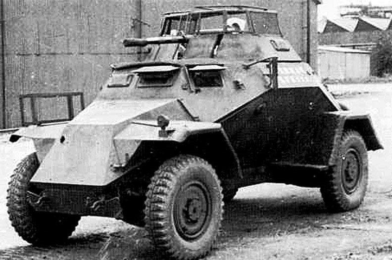 Легкий бронеавтомобиль Sd.Kfz.221. 1939 г.
