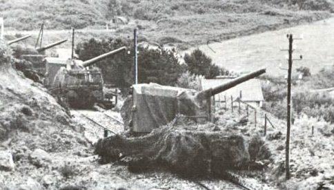 Железнодорожное орудие 15-cm К (Е). 1939 г.