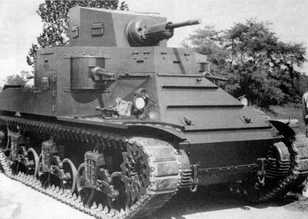 Легкий танк М-2А1. 1940 г.