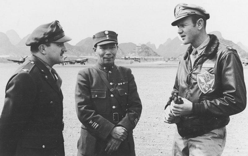 «Летающие тигры» на земле. Китай, декабрь 1941 г.