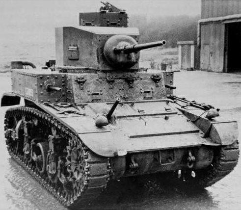 Легкий танк M-3 «Stuart» І. 1940 г.