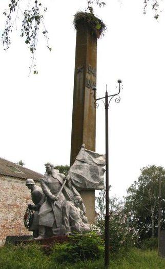 с. Великая Весь Репкинского р-на. Памятник погибшим односельчанам.