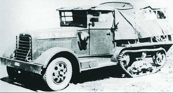 Тягач GMC Т-5. 1940 г.