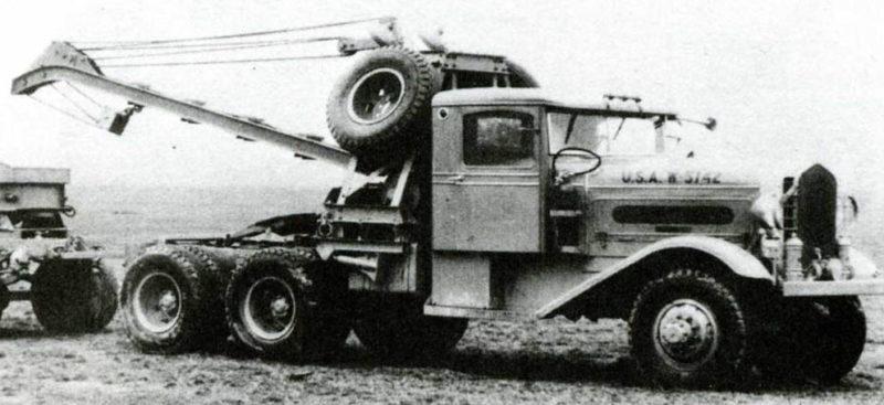 Ремонтно-эвакуационная машина Corbitt 54SD-6. 1940 г.