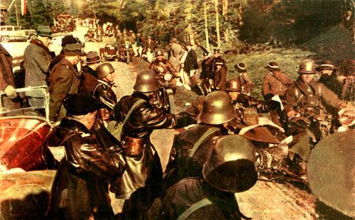 Польская 10-я танковая кавалерийская бригада. 1938 г.