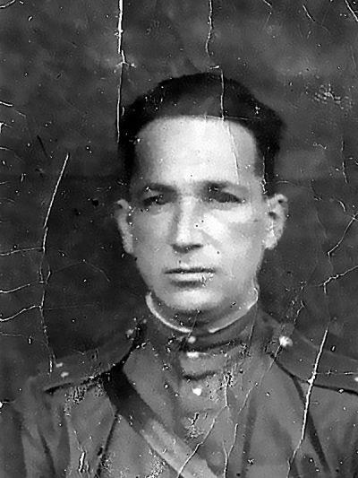 Александр Печерский после возвращения в армейский строй.