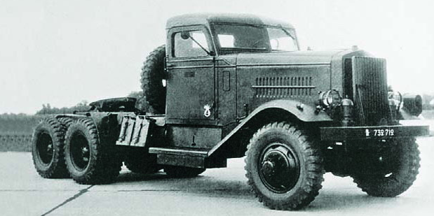 Грузовик Biederman F-1. 1940 г.