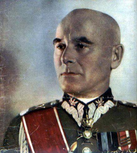 Главнокомандующий Войска Польского - маршал Эдвард Смиглы-Рыдз. 1939 г.