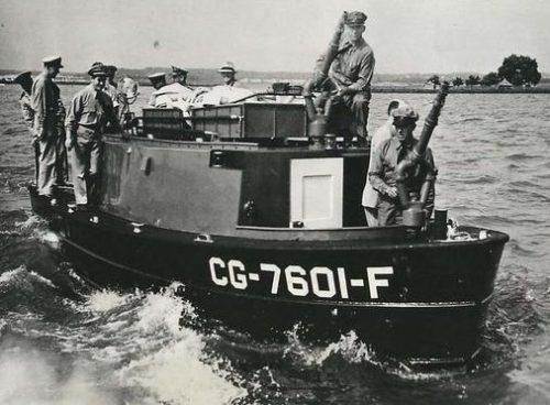 Патрульные катера береговой охраны. 1941 г.